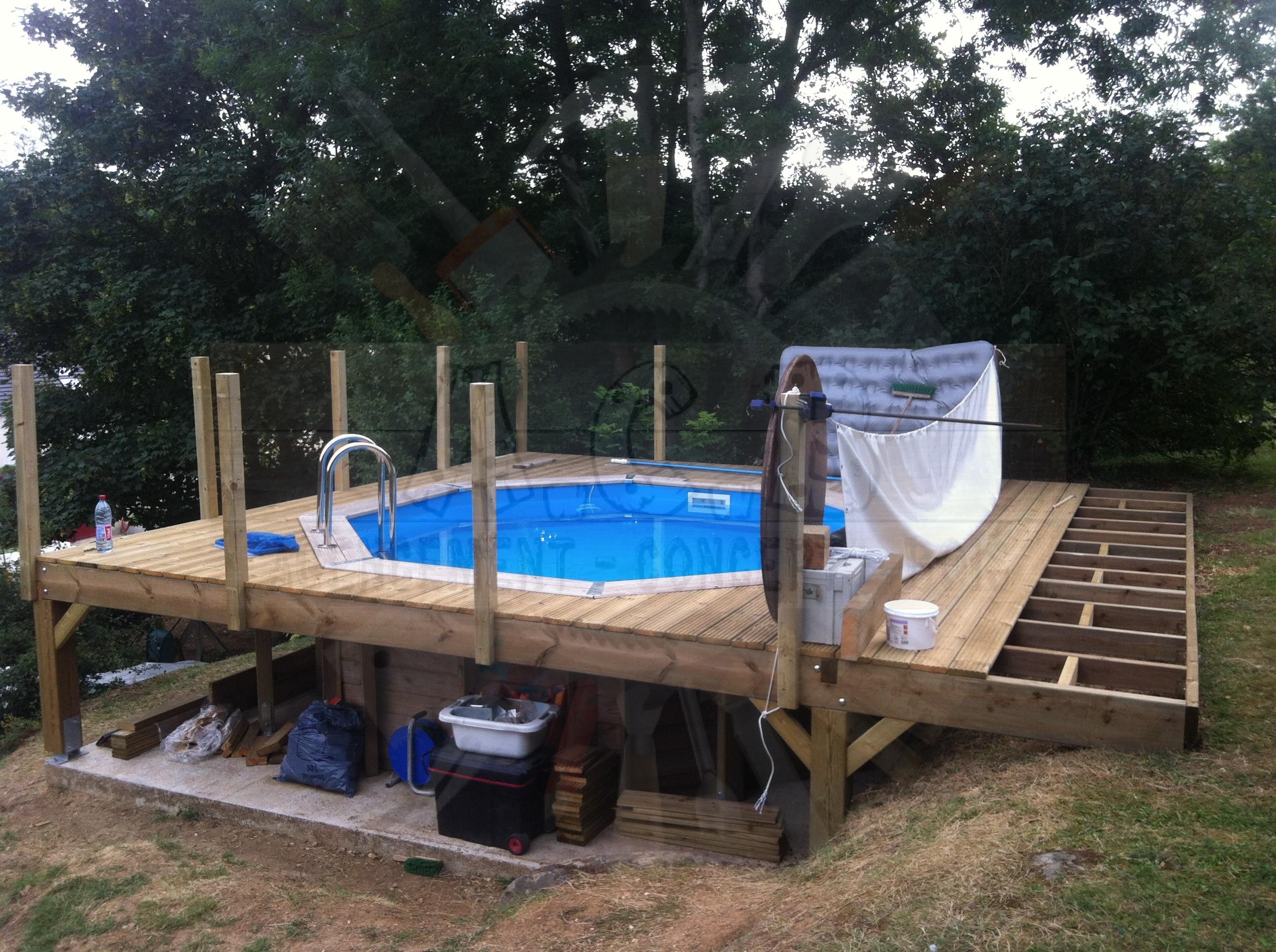 entourage piscine agencement concept bois. Black Bedroom Furniture Sets. Home Design Ideas